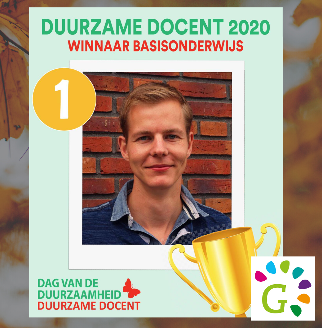 Ewoud duurzame docent