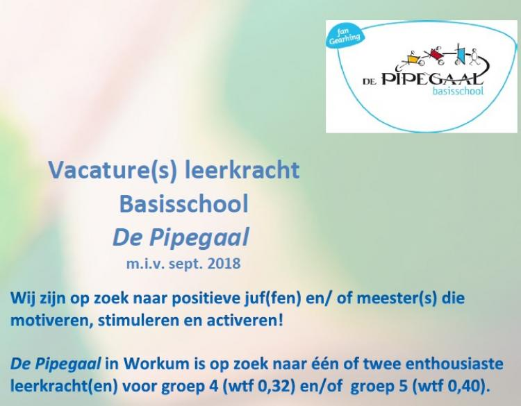 vacature Pipegaal2